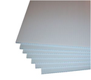 "White Corrugated Plastic 18""x24"" 4mm Sign Blanks"