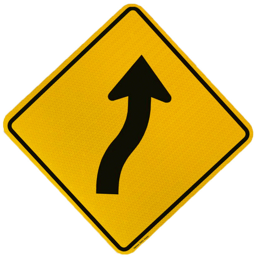 Multi Curve Sign (Right Arrow)