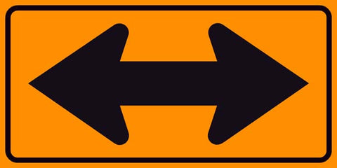 Double Arrow Sign