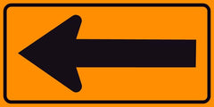 Single Arrow Sign