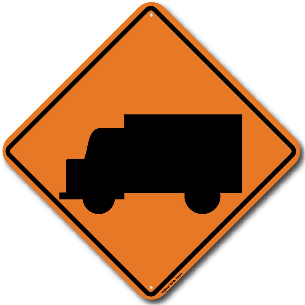 W11-10 Truck Sign