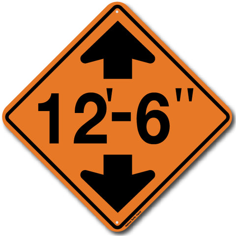 W12-2 Low Clearance Sign