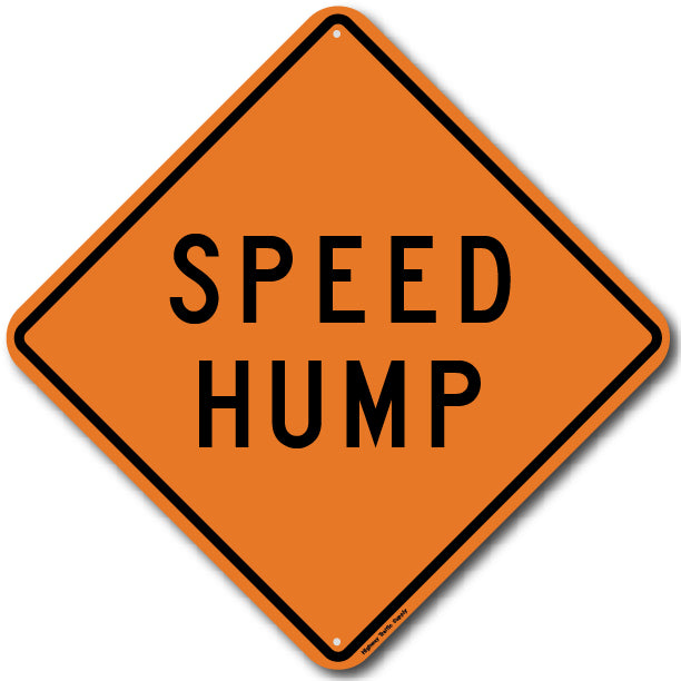 W17-1 Speed Hump Sign