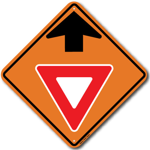 W3-2 yield ahead