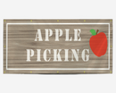 Apple Picking Banner