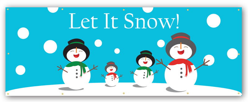 Let It Snow Banner