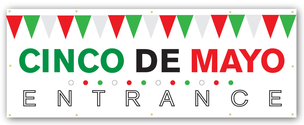 Cinco De Mayo Entrance Banner