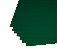 "Dark Green Corrugated Plastic 18""x24"" 4mm Sign Blanks"