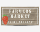 Farmers Market Every Weekend Banner