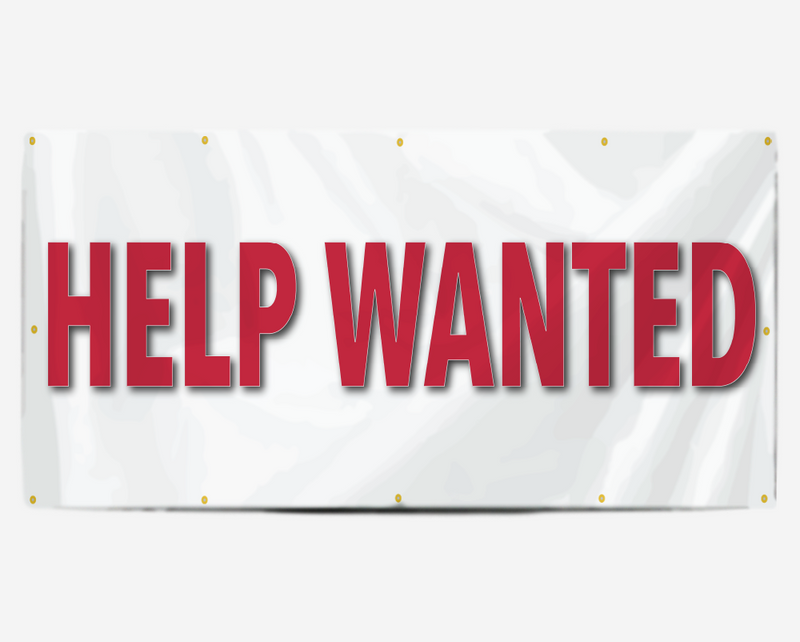 Help Wanted Banner