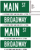 Custom Street Name Signs