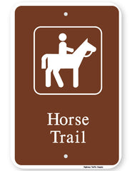 Horse Trail Sign