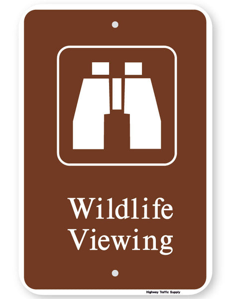 Wildlife Viewing Sign