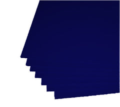 "Navy Blue Corrugated Plastic 18""x24"" 4mm Sign Blanks"