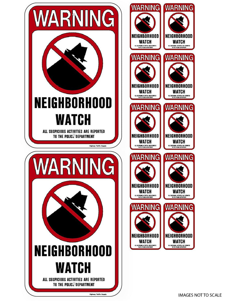 Neighborhood Crime Watch Kit