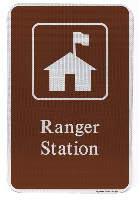 Ranger Station Sign