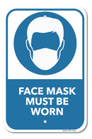 Face Mask Must Be Worn Sign