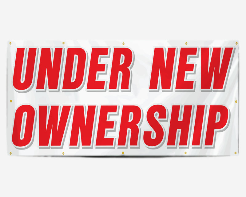 Under New Ownership Banner