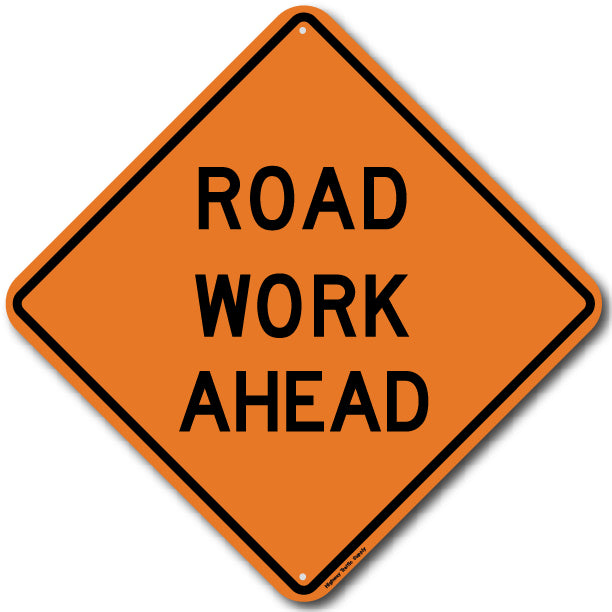 W20-1 Road Work Ahead Sign