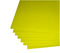 "Yellow Corrugated Plastic 18""x24"" 4mm Sign Blanks"
