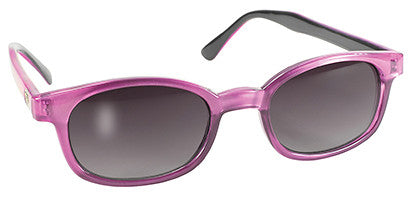Purple Pearl Frame/Grey Gradient Grey Lens - Maine-Line Leather
