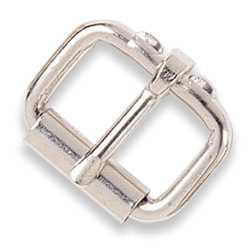 Roller Buckle Stainless Steel - Maine-Line Leather