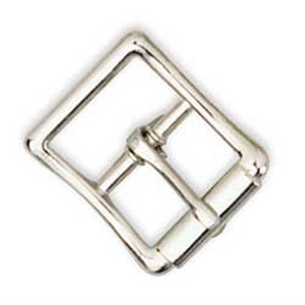 Imitation Roller Buckle Nickel Plated - Maine-Line Leather