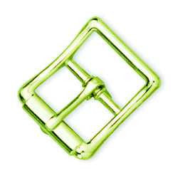 Imitation Roller Buckle Brass Plated - Maine-Line Leather