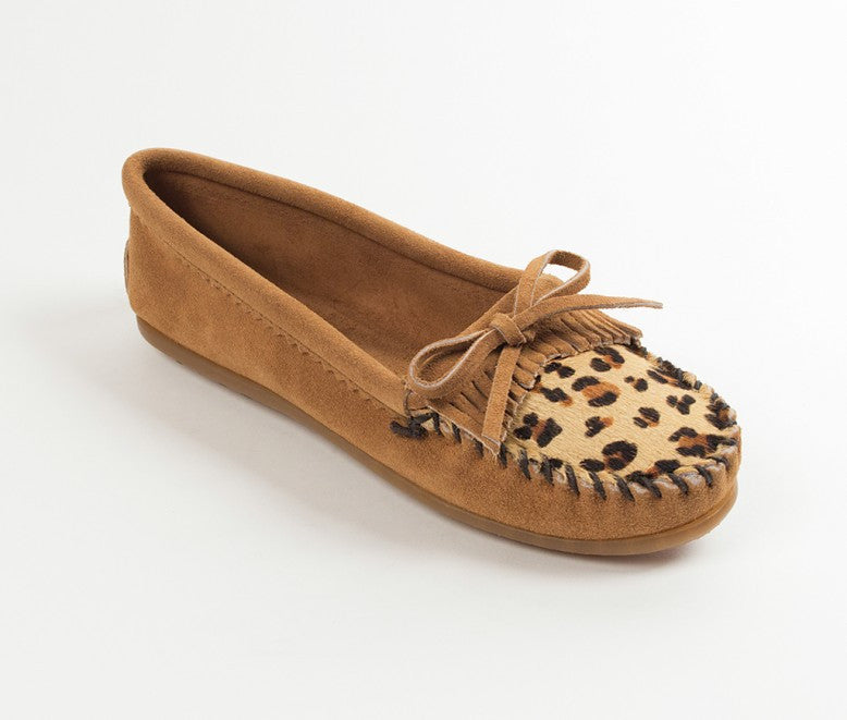 Women's Leopard Kilty 3 Colors - Maine-Line Leather - 1