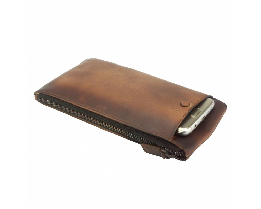 Italian Wallet in Vintage Leather