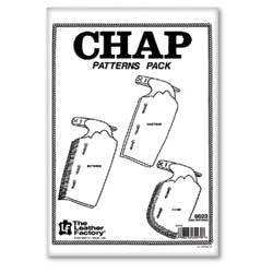 Chap Pattern Pack - Maine-Line Leather