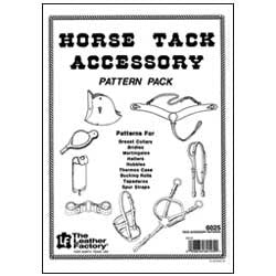 Tack Accessory Pattern Pack - Maine-Line Leather