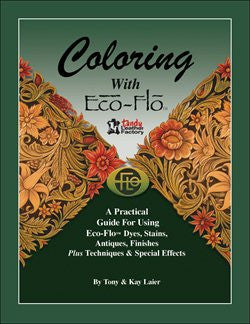 Coloring With Eco-Flo Book - Maine-Line Leather
