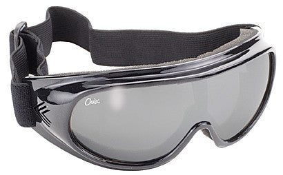Goggle- Smoke Silver Mirror/Black