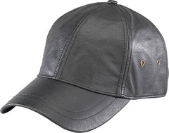 Leather Baseball Cap - Maine-Line Leather - 1