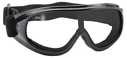 Goggle- Clear/Black - Maine-Line Leather