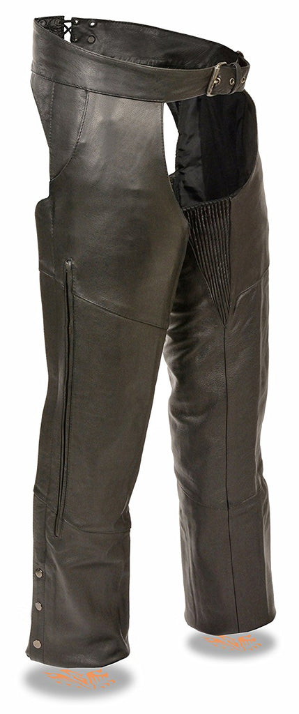 Milwaukee Vented Lined Leather Chaps
