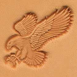 Attack Eagle Craftool 3-D Stamp - Maine-Line Leather