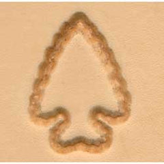 Arrowhead Craftool 2-D Stamp - Maine-Line Leather