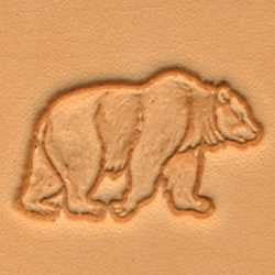 Bear Craftool 3-D Stamp - Maine-Line Leather