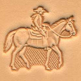 Horse & Rider Craftool 3-D Stamp - Maine-Line Leather
