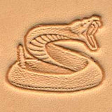 Rattlesnake Craftool 3-D Stamp - Maine-Line Leather