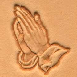 Praying Hands Craftool 3-D Stamp - Maine-Line Leather