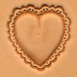 Heart Craftool 3-D Stamp - Maine-Line Leather