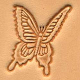 Butterfly Craftool 3-D Stamp - Maine-Line Leather