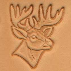 Deer Head Craftool 3-D Stamp - Maine-Line Leather