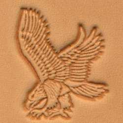Eagle Craftool 3-D Stamp (Left) - Maine-Line Leather
