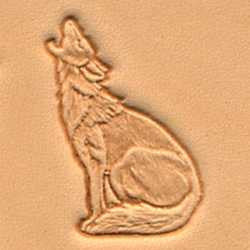 Howling Coyote Craftool 3-D Stamp - Maine-Line Leather