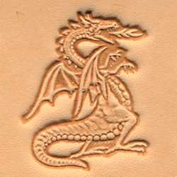 Dragon Craftool 3-D Stamp - Maine-Line Leather