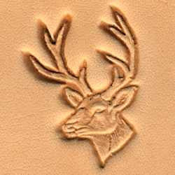 Whitetail Deer Craftool 3-D Stamp - Maine-Line Leather